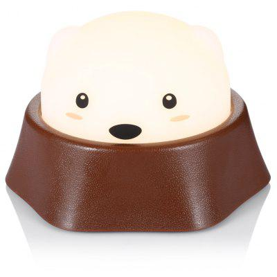 Cute Mole Warm Pat Night Light