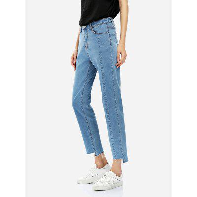 ZANSTYLE Jeans Mujer Azul