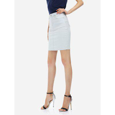 ZANSTYLE Women Knee Length Pencil Skirt