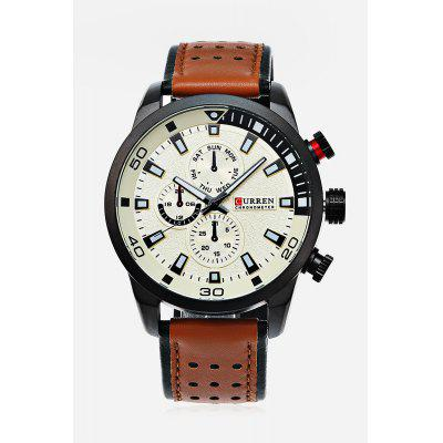 CURREN 8250 Casual Men Quartz Watch curren curren 6