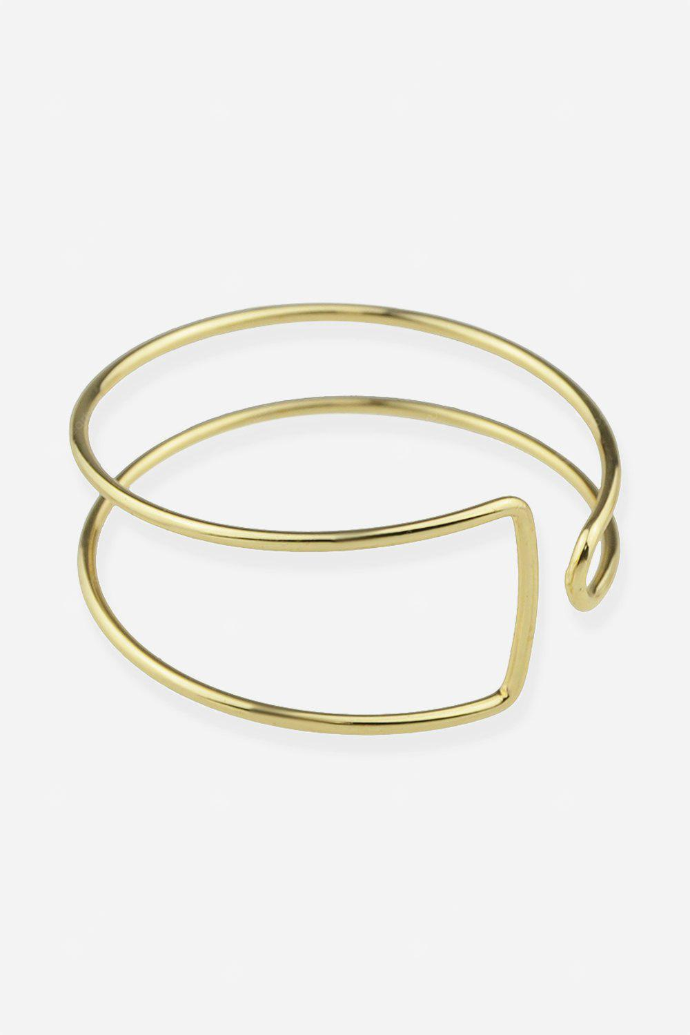 Woman Asymmetric Hollow Bracelet
