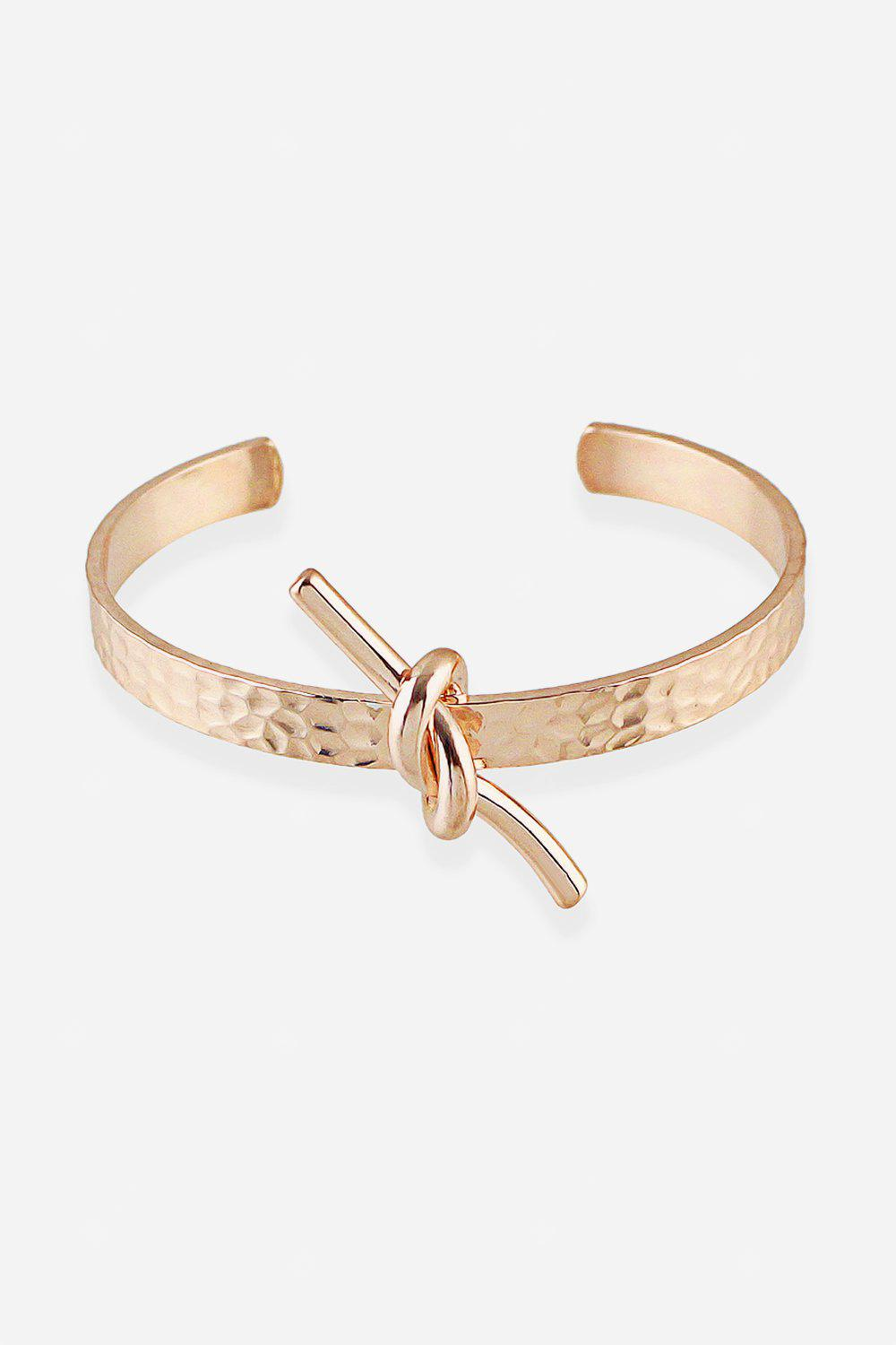 Korean Metal Thin Striped Bracelet