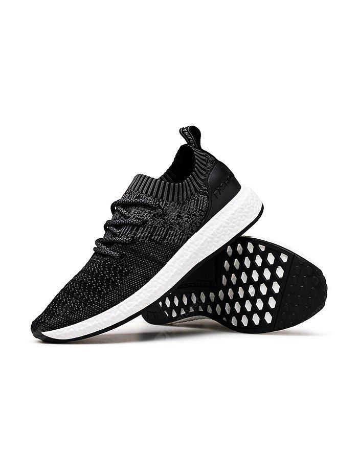 Fashion Comfortable  Fly Woven Men  Sneakers