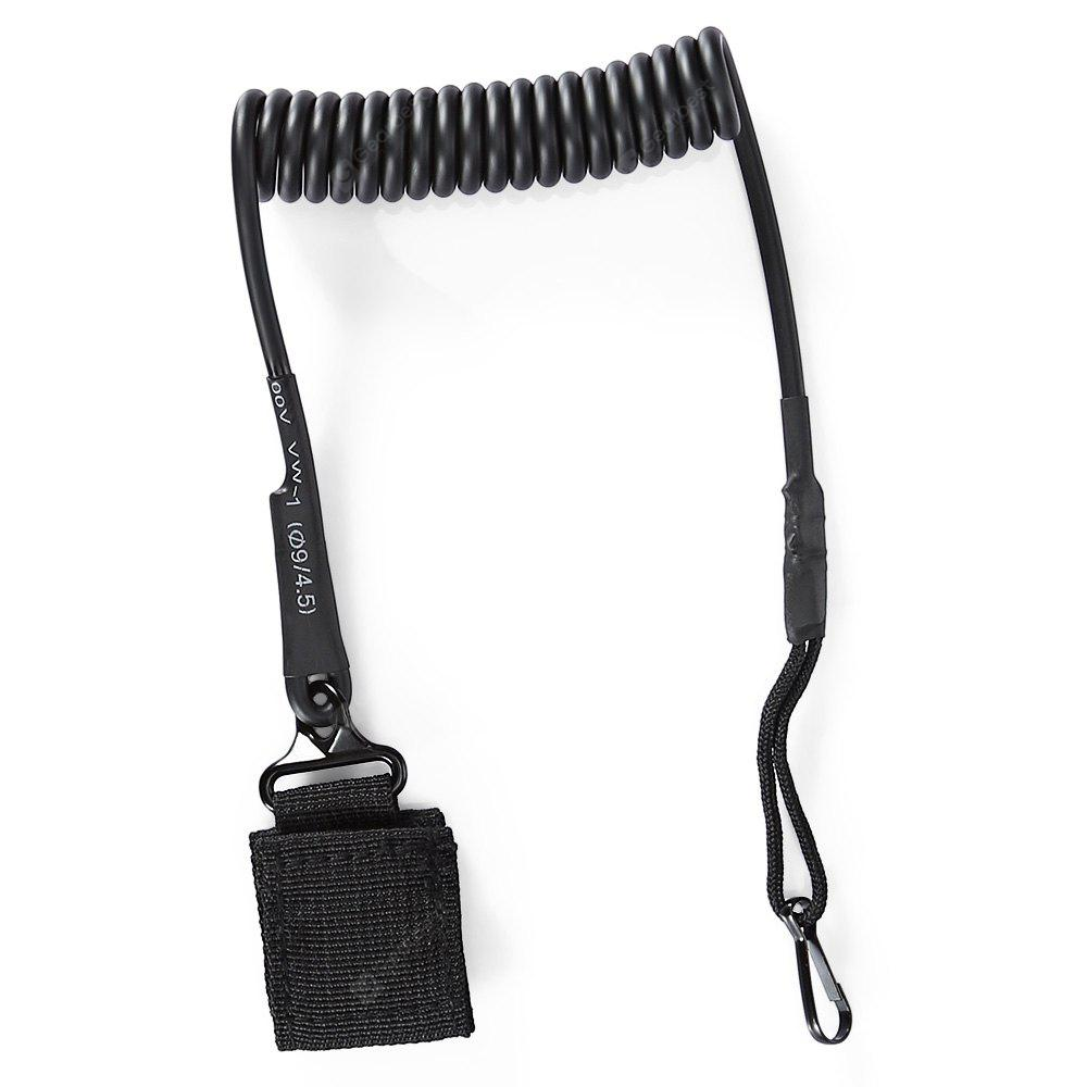 Wear-resistant Anti-lost Lanyard Key Chain Spring Rope