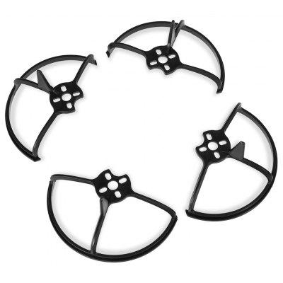 Buy BLACK Impact-resistant PC Propeller Guard 4pcs / set for $2.47 in GearBest store