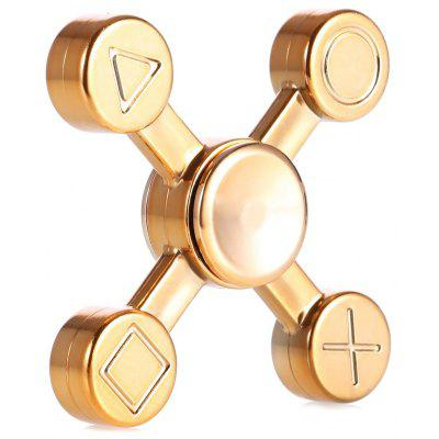 Four-leaf X Shape ABS ADHD EDC Fidget Spinner