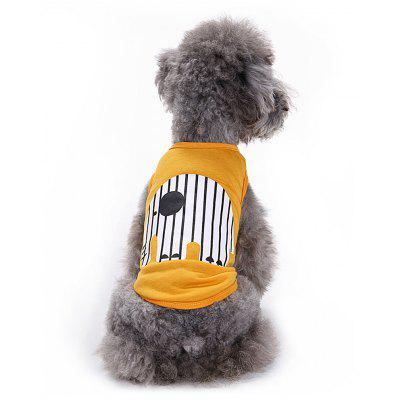 Cartoon Elephant Cotton Pet Dog Clothes Tee Costume