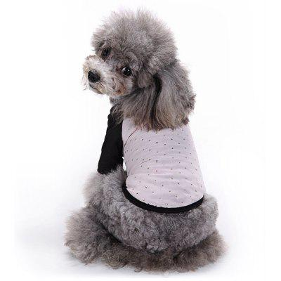 Chiffon Pet Clothes T-shirt Apparel Dog Tee