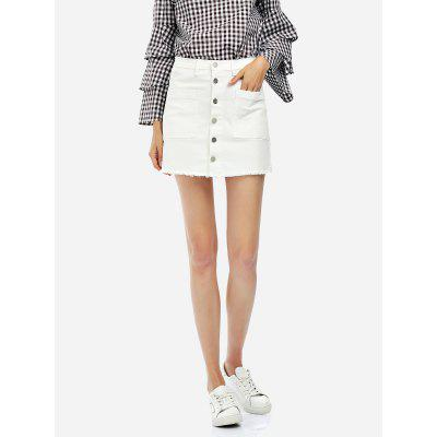 ZANSTYLE Women A Line Mini Skirt