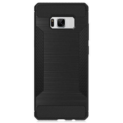 Luanke Anti-slip Cover CaseSamsung S Series<br>Luanke Anti-slip Cover Case<br><br>Brand: Luanke<br>Compatible with: Samsung Galaxy S8<br>Features: Anti-knock, Back Cover<br>Material: Carbon Fiber<br>Package Contents: 1 x Phone Case<br>Package size (L x W x H): 21.00 x 13.00 x 2.00 cm / 8.27 x 5.12 x 0.79 inches<br>Package weight: 0.0460 kg<br>Product size (L x W x H): 15.10 x 7.10 x 1.00 cm / 5.94 x 2.8 x 0.39 inches<br>Product weight: 0.0220 kg<br>Style: Modern, Cool, Round Dots, Pattern
