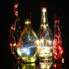 10 LEDs Wire String Romantic Atmosphere Lamp - WINE RED