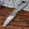 Enlan M05BK Folding Knife - SILVER