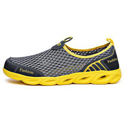 Summer Mesh Slip On Sports Trekking Shoes