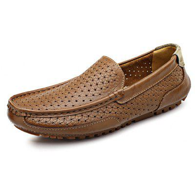 Slip-on Men Leather Shoes