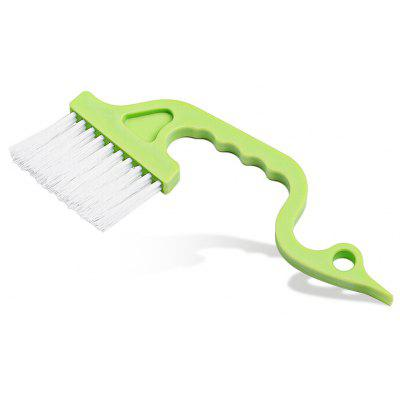 Handheld Curved Window Door Gap Cleaning Brush