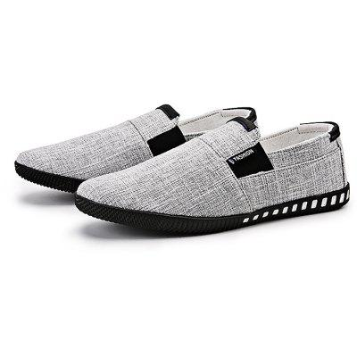 Canvas Slip-on Men Casual Shoes