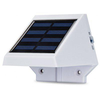 Lámpara Controlable de Pared de Energía Solar de 4 LEDs