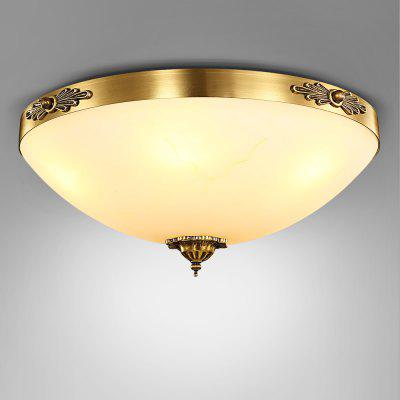 ZUOGE9066 E27 Lid Shape Chandelier Hanging Ceiling Light