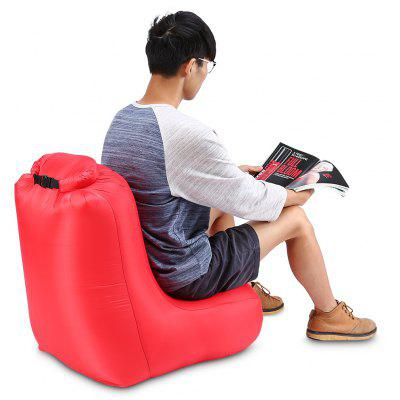 Buy RED CTSmart DL1620 Portable150kg Loading Inflatable Chair Sofa for $11.29 in GearBest store