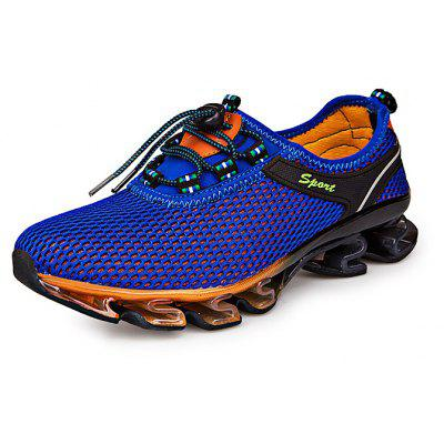 Sports Mesh Breathable Men Running Hiking ShoesAthletic Shoes<br>Sports Mesh Breathable Men Running Hiking Shoes<br><br>Closure Type: Buckle Strap<br>Contents: 1 x Pair of Shoes<br>Decoration: Hollow Out<br>Materials: TPU, Rubber, Mesh<br>Occasion: Casual<br>Outsole Material: Rubber<br>Package Size ( L x W x H ): 35.00 x 22.00 x 15.00 cm / 13.78 x 8.66 x 5.91 inches<br>Seasons: Autumn,Spring,Summer<br>Style: Casual<br>Type: Hiking Shoes<br>Upper Material: Mesh