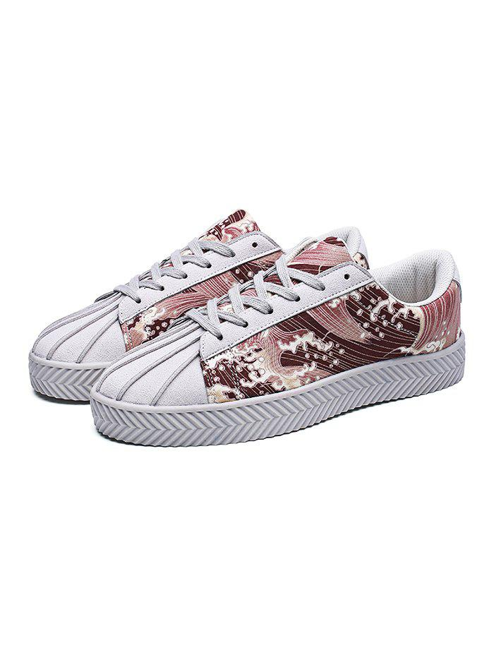 Canvas respiráveis Lace-up Men Shoes Casual