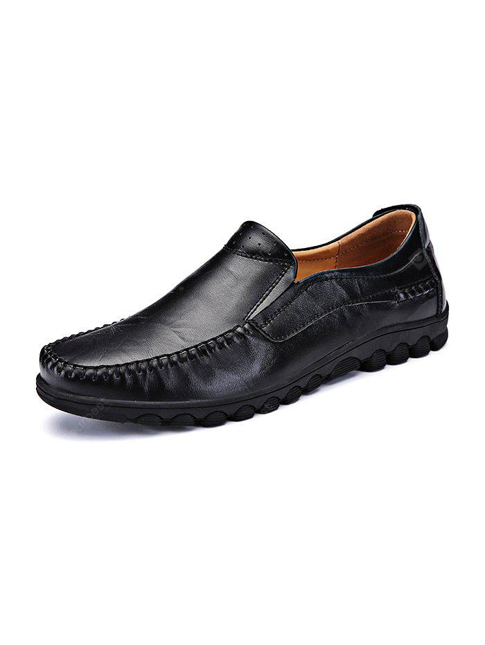 Fashion Cowhide Slip-on Men Casual Shoes outlet store cheap price fashion Style for sale WIJw2j5Mt3