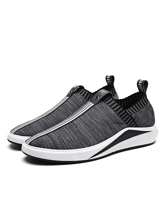 Men Fashion  Fly Woven Sneakers
