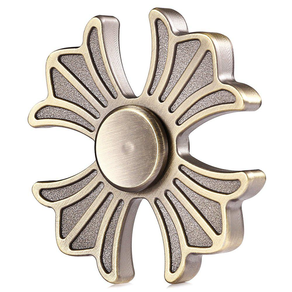 Retro Four-leaf Fan Zinc Alloy Fidget Spinner