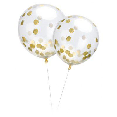 10PCS Confetti Balloons for Party Wedding