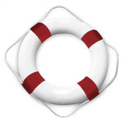 Nautical Nordic Foam Buoy Wall Decor Welcome Sign Hanging Home Decoration