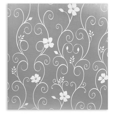 Matt Flower Window Door Glass Sticker