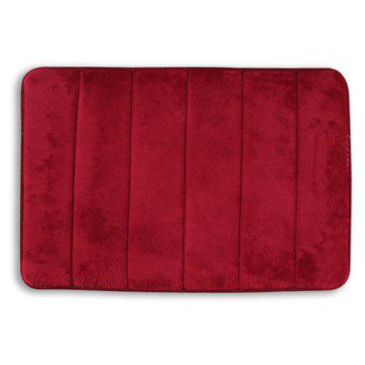 Coral Fleece Doormat Rug Mat with Memory Foam