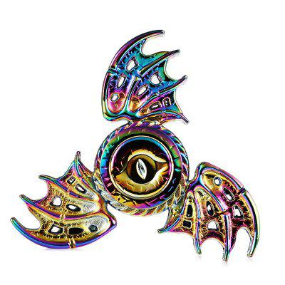 Tri-wing Rainbow Evil Eye Zinc Alloy Fidget SpinnerFidget Spinners<br>Tri-wing Rainbow Evil Eye Zinc Alloy Fidget Spinner<br><br>Color: Colorful<br>Frame material: Zinc Alloy<br>Package Contents: 1 x Fidget Spinner<br>Package size (L x W x H): 9.00 x 9.00 x 1.50 cm / 3.54 x 3.54 x 0.59 inches<br>Package weight: 0.0930 kg<br>Product size (L x W x H): 6.40 x 6.40 x 1.20 cm / 2.52 x 2.52 x 0.47 inches<br>Product weight: 0.0570 kg<br>Swing Numbers: Tri-Bar<br>Type: Triple Blade, Cool