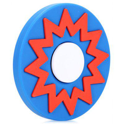 Polygonal Star Round Silicone ADHD Spinner Anxiety Toy