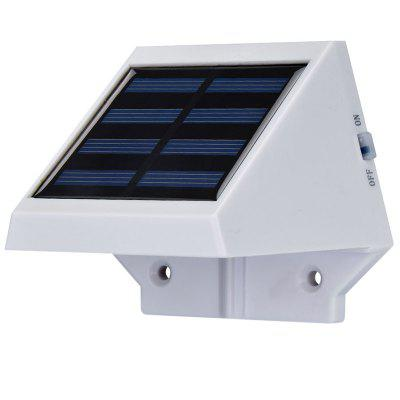 Solar Powered 4 LEDs Light Controlled LED Wall Lamp