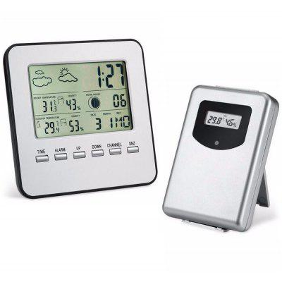 LCD Digital Wireless Thermometer Hygrometer Set