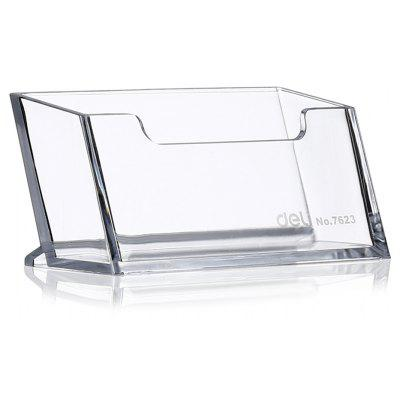 Deli 7623 Business Name Card Case / Box for Office