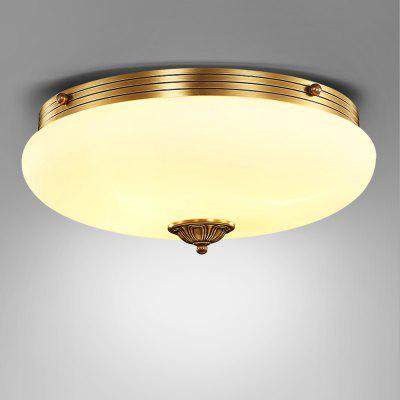 ZUOGE9065 E27 Lid Shape Chandelier Hanging Ceiling Light