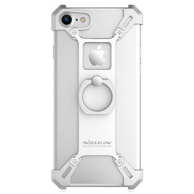 Nillkin Frame Case for iPhone 7iPhone Cases/Covers<br>Nillkin Frame Case for iPhone 7<br><br>Brand: Nillkin<br>Compatible for Apple: iPhone 7<br>Features: Anti-knock, Back Cover, Bumper Frame, Cases with Stand<br>Material: Metal<br>Package Contents: 1 x Ring Holder Plate, 4 x Corner Holder, 1 x Screwdriver, 8 x Screw, 1 x English / Chinese Manual<br>Package size (L x W x H): 18.00 x 11.20 x 2.50 cm / 7.09 x 4.41 x 0.98 inches<br>Package weight: 0.1060 kg<br>Product size (L x W x H): 14.00 x 7.00 x 1.30 cm / 5.51 x 2.76 x 0.51 inches<br>Product weight: 0.0360 kg<br>Style: Modern, Ultra Slim, Cool