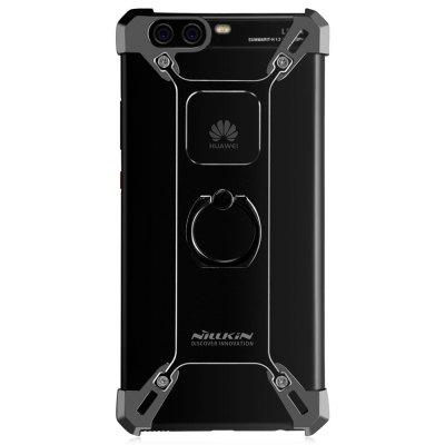 Nillkin Frame Case for HUAWEI P10Cases &amp; Leather<br>Nillkin Frame Case for HUAWEI P10<br><br>Brand: Nillkin<br>Compatible Model: P10<br>Features: Anti-knock, Back Cover, Bumper Frame, Cases with Stand<br>Mainly Compatible with: HUAWEI<br>Material: Metal<br>Package Contents: 1 x Ring Holder Plate, 4 x Corner Holder, 1 x Screwdriver, 8 x Screw, 1 x English / Chinese Manual<br>Package size (L x W x H): 17.50 x 11.20 x 2.50 cm / 6.89 x 4.41 x 0.98 inches<br>Package weight: 0.1090 kg<br>Product Size(L x W x H): 14.50 x 7.30 x 1.30 cm / 5.71 x 2.87 x 0.51 inches<br>Product weight: 0.0380 kg<br>Style: Cool, Modern