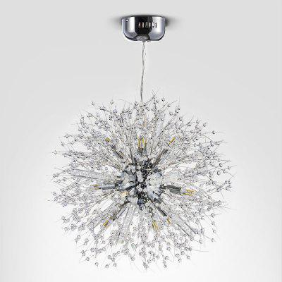 Zg9071 3000lm crystal firework ball chandelier ceiling light zg9071 3000lm crystal firework ball chandelier ceiling light mozeypictures Image collections