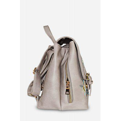 Floral Embroidery PU Leather Backpack for WomenBackpacks<br>Floral Embroidery PU Leather Backpack for Women<br><br>Closure Type: Drawstring<br>Material: PU<br>Package Size(L x W x H): 25.00 x 15.00 x 28.00 cm / 9.84 x 5.91 x 11.02 inches<br>Package weight: 0.6300 kg<br>Packing List: 1 x Backpack<br>Product Size(L x W x H): 24.00 x 14.00 x 27.00 cm / 9.45 x 5.51 x 10.63 inches<br>Product weight: 0.5900 kg<br>Style: Casual<br>Type: Backpacks