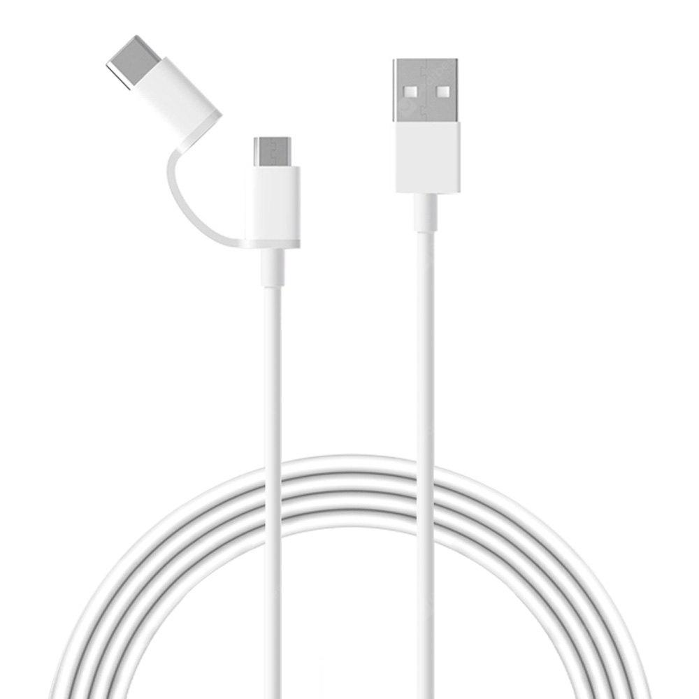 Original Xiaomi Type C Micro Line 677 Free Shipping Cable Kabel Usb Charge Data Remax Full Speed 2 Meter Support Quick