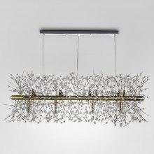 ZG9073 3500LM Rectangular Chandelier Lamp Ceiling Light