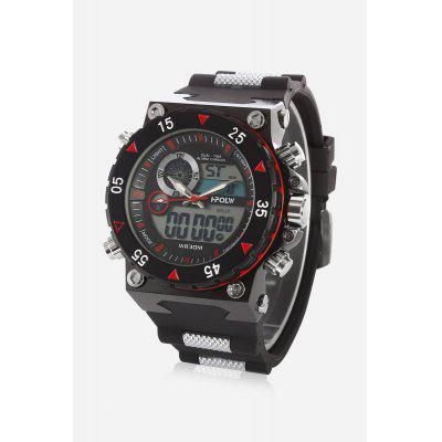 Buy HPOLW 627 Stylish Analog-digital Watch, RED, Watches & Jewelry, Men's Watches for $32.38 in GearBest store