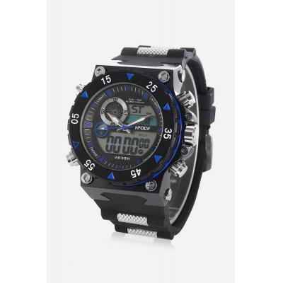 Buy HPOLW 627 Stylish Analog-digital Watch, BLUE, Watches & Jewelry, Men's Watches for $32.38 in GearBest store