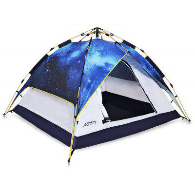Polar Fire ZPT302 Anti-UV 3 - 4 Persons Auto Camping Tent