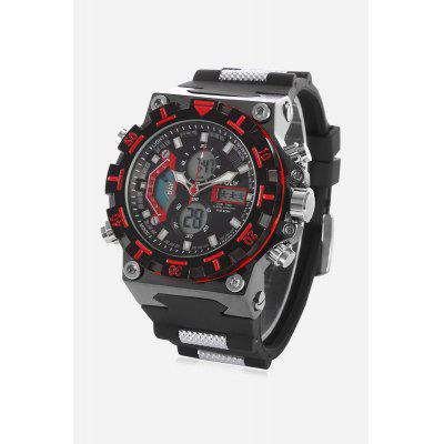 Buy HPOLW 628 Analog-digital Watch, RED, Watches & Jewelry, Men's Watches for $14.30 in GearBest store