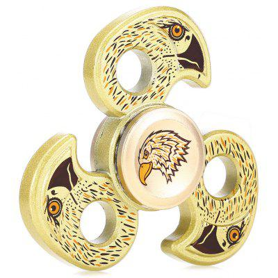 Tri-bar Zinc Alloy Eagle Shape ADHD Spinner Anxiety Toy