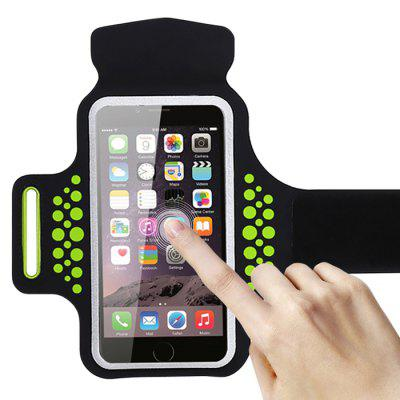 Running Sports Armband for iPhone 7 Phone Strap CaseiPhone Cases/Covers<br>Running Sports Armband for iPhone 7 Phone Strap Case<br><br>Compatible for Apple: iPhone 7<br>Features: Anti-knock, Sports and Outdoors, Sports Case<br>Material: Nylon<br>Package Contents: 1 x Armband Case<br>Package size (L x W x H): 20.00 x 15.00 x 4.00 cm / 7.87 x 5.91 x 1.57 inches<br>Package weight: 0.0750 kg<br>Product weight: 0.0500 kg<br>Style: Modern, Contrast Color